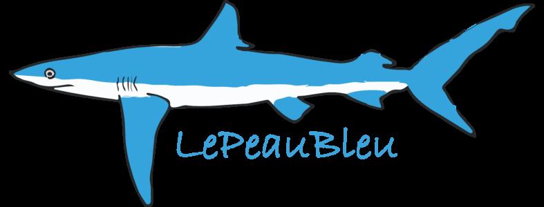Logo LePeauBleu_transp_300dpi